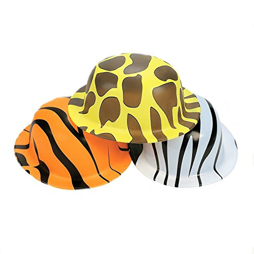 Animal Print Derby Hats