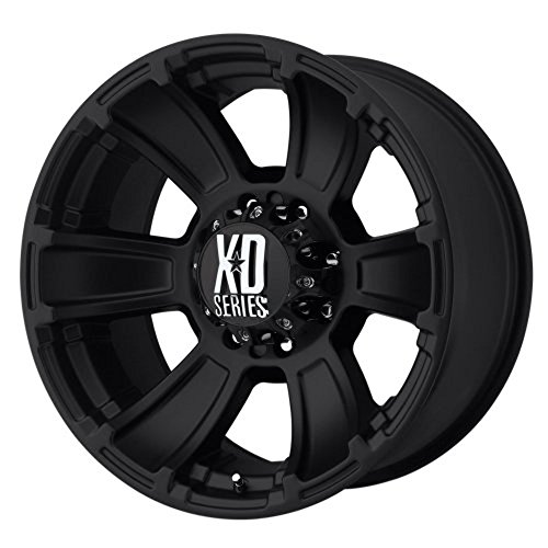 XD Series by KMC Wheels XD796 Revolver Matte Black Wheel (17x9