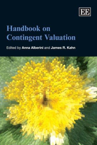 Handbook On Contingent Valuation