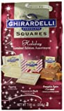 Ghirardelli Chocolate Squares, Limited Edition Holiday Assortment, 7.18-Ounce Holiday Packages (Pack of 4)