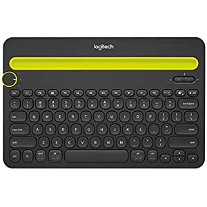 Logitech Bluetooth Multi-Device Keyboard K480 for Computers, Tablets and Smartphones, Black