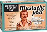 Mustache Poet: Magnetic Poetry Kit