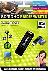 Secure Digital SD/SDHC/MMC 2.0 USB Card Reader