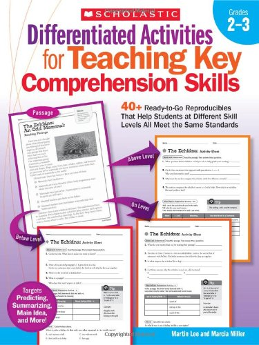 Differentiated Activities for Teaching Key Comprehension 