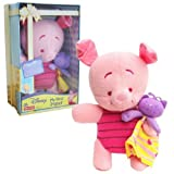 Fisher Price Disney Winnie the Pooh and Friends My First Soft Plush Piglet in Gift Box