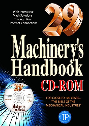 Machinery's Handbook, CD-ROM and Toolbox Set (Machinery's Handbook (W/CD))