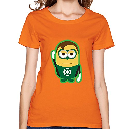 ZHUYOUDAO Women's Marvel's The Avengers Hulk Despicable Me Minions T-shirt