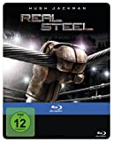Real Steel Steelbook Blu-Ray Regionfree - Limited Steelbook Edition in English, German and Turkish