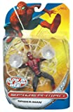 Spiderman Classic Trilogy Heroes Action Figures - Wall Clinging Spiderman