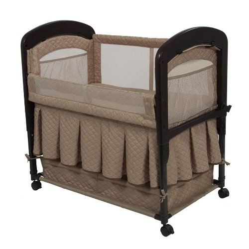 Arm's Reach Co-Sleeper Cambria Bassinet, Toffee - 1