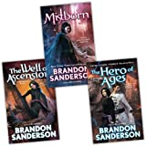 Brandon Sanderson Mistborn 3 Books Collection Pack Set (The Well of Ascension Book Two, The Hero of Ages Book Three, The Final Empire Book One)