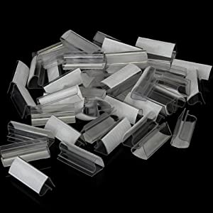 50pcs Plastic Velcro Table Skirt Skirting Clips 2-4cm Wedding Party by epower mall