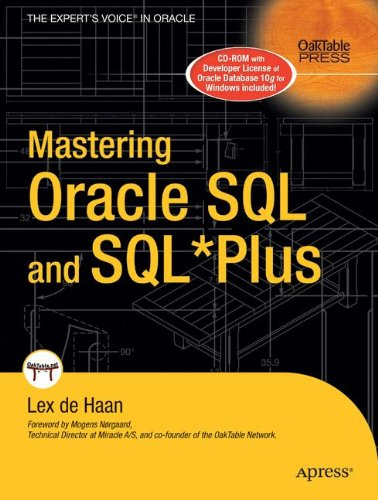 Online free mastering oracle sql and sql*plus (oaktable press) pdf ….