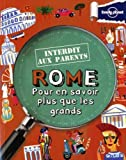 Rome Interdit aux parents - 3ed