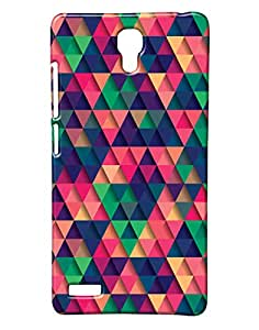 Pickpattern Back Cover for Redmi Note