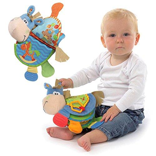 Animaux tissu développement de l'activité des jouets bébé livre livre nouveau-né jouet apprentissage & éducation doux Unfolding Books, jouet éducatif