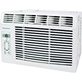 "Keystone KSTAW05B Energy Star 5, 000 BTU Window-Mounted Air Conditioner with ""Follow Me"" LCD Remote Control, 115-volt"