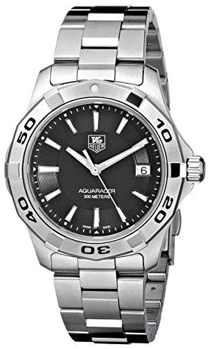 TAG Heuer Men's WAP1110.BA0831 Aquaracer Black Dial Watch