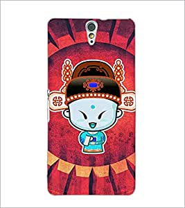PrintDhaba Cartoon D-4655 Back Case Cover for SONY XPERIA C5 ULTRA (Multi-Coloured)