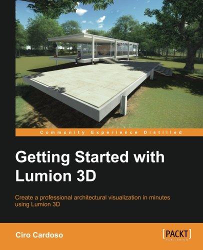 Getting Started with Lumion 3D [Cardoso, Ciro] (Tapa Blanda)