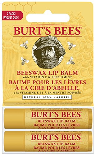 Burt S Bees  Natural Moisturizing Lip Balm Beeswax
