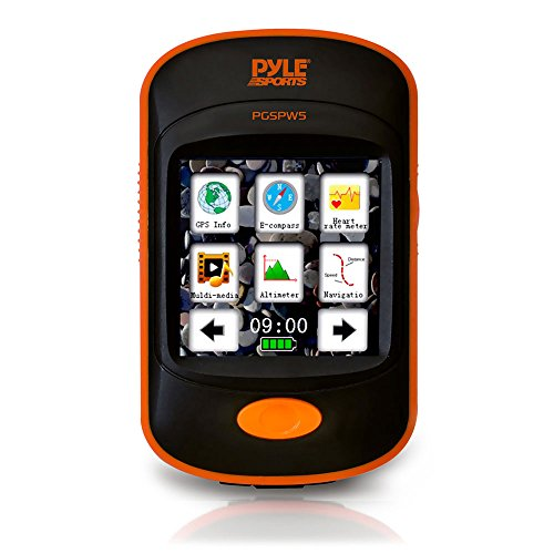 Pyle PGSPW5 GPS Navigation Sporting Unit with Built-In MP3 P