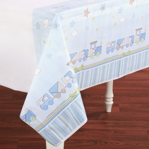 Amscan 152613 Carters Baby Boy Plastic Tablecover