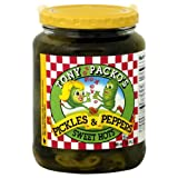 Tony Packo Sweet Hot Pickles and Peppers, 24 Ounce