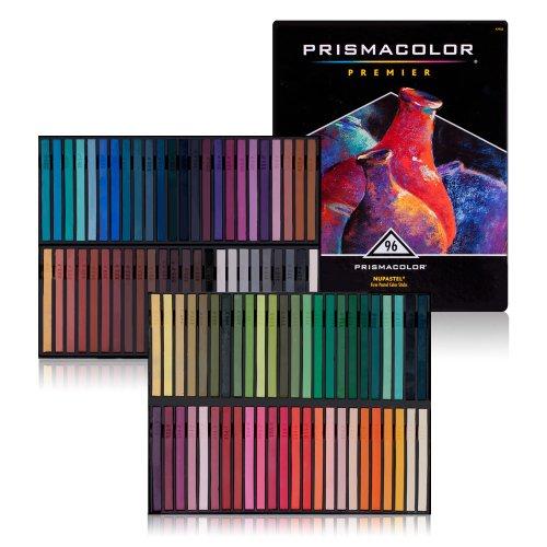 Prismacolor Nupastel Set, 96 Colored Pastels(27055)
