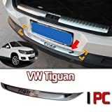 GOOACC®Rear Tailgate Trunk Trim Molding Exterior for 2010 2011 2012 Volkswagen VW Tiguan