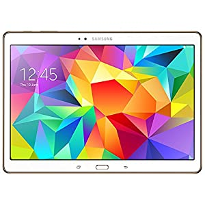 """Samsung Galaxy Tab S Tablette tactile 10,5"""" (25,65 cm) (16 Go, Android KitKat 4.4, Bluetooth 4.0, Wi-Fi, Blanc)"""