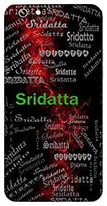 Sridatta (Given By God) Name & Sign Printed All over customize & Personalized!! Protective back cover for your Smart Phone : Apple iPhone 6