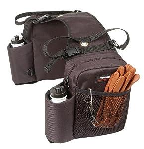 Tough 1 Nylon Water Bottle Gear Carrier Saddle Bag, Brown by Tough 1