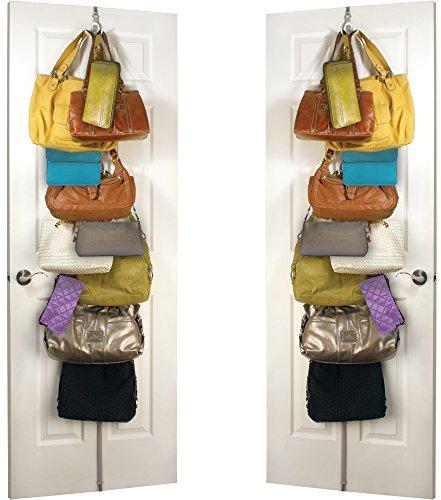 Jokari over The Door Hanging Purses Plus Purse Rack