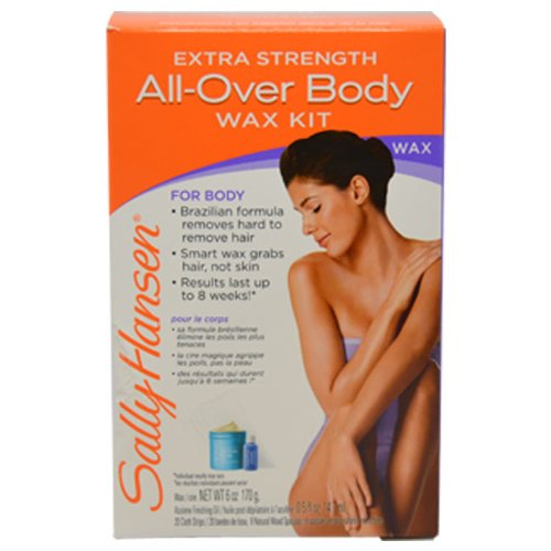 Sally Hansen All Over Body Wax Hair Removal Kit, Net.WT 6oz/170g (Wax Coarse Hair compare prices)