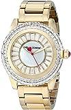 Betsey Johnson Women's BJ00301-02 Analog Display Quartz Gold Watch
