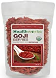 Healthworks Certified Organic Goji Berries, 32 Ounce