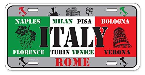 Dimension 9 Home Decorative Plates Italy Garden