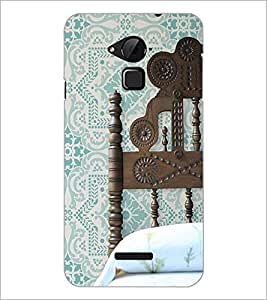 PrintDhaba Bed Header D-2170 Back Case Cover for COOLPAD NOTE 3 LITE (Multi-Coloured)