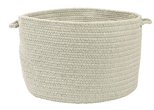 Colonial Mills Allure Utility Basket, 14 by 10-Inch, Misted Green - 1