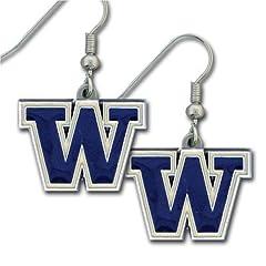Buy NCAA Washington Huskies Dangle Earrings by Siskiyou Sports