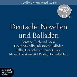 Deutsche Novellen und Balladen (Klassiker to go) Hörbuch