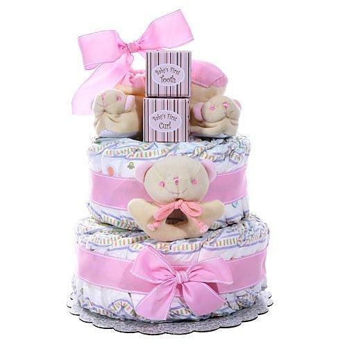 Bootie Diaper Cake front-1046840