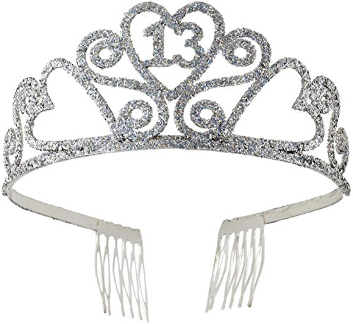 Forum Novelties 13th Birthday Glitter Tiara (Number 13 compare prices)