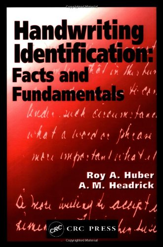Handwriting Identification: Facts and Fundamentals