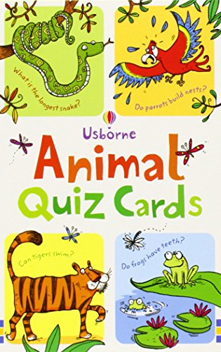 Animal Quiz: Quiz Cards (Usborne Quiz Cards)