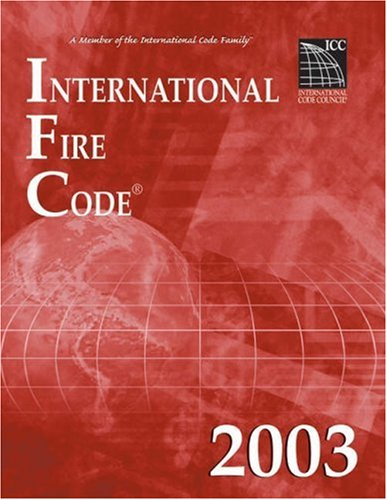 2003 International Fire Code - Soft-cover - ICC (distributed by Cengage Learning) - IC-3400S03 - ISBN: 1892395606 - ISBN-13: 9781892395603