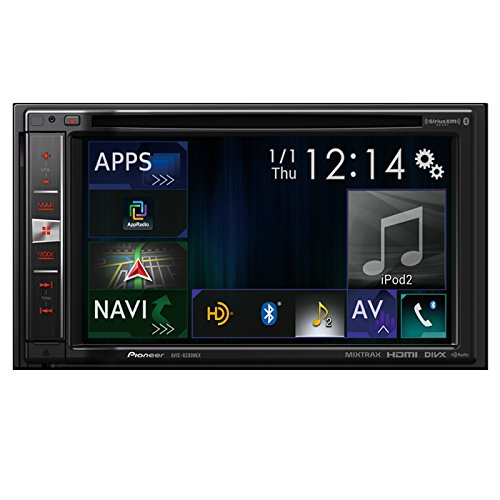 Pioneer AVIC-6200NEX In Dash Double Din Navigation Receiver with Built in Bluetooth and HD Radio (Pioneer Double Din App Car Stereo compare prices)