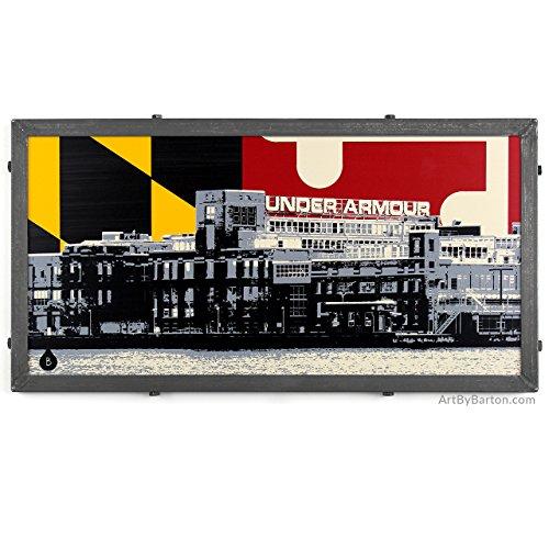 under-armour-warehouse-framed-silkscreen-print-with-maryland-flag