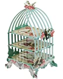 Talking Tables 3-Tier Prl-Cake Stand in Bird Cage Shape
